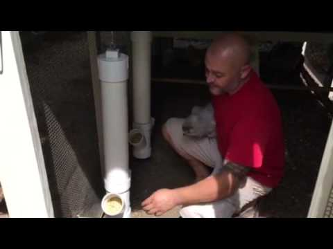 DIY PVC chicken feeders and waterers
