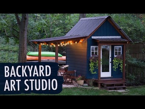Backyard Art Studio | My Art Story