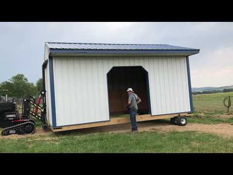 COLORADO HORSE SHED DELIVERY