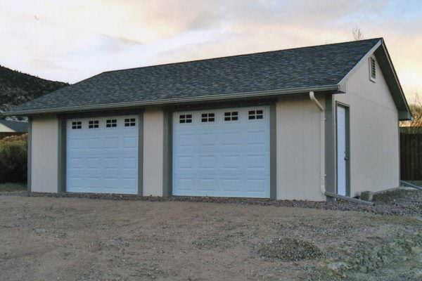 Buy 2 car garage on the eastern slope of colorado for 2 car detached garage kits