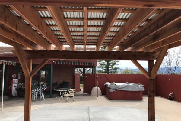 Pergolas in Colorado 3
