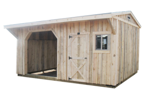 Get a Quote for a Colorado Loafing Run-in Horse Barn Shed