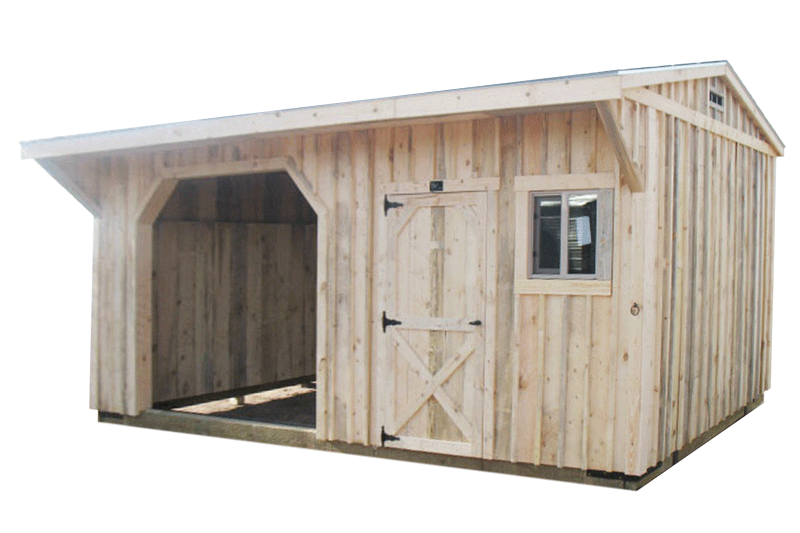 Loafing Sheds for my Horse