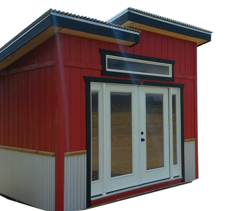 Buy backyard sheds for your colorado home 5 year warranty for Modern sheds for sale