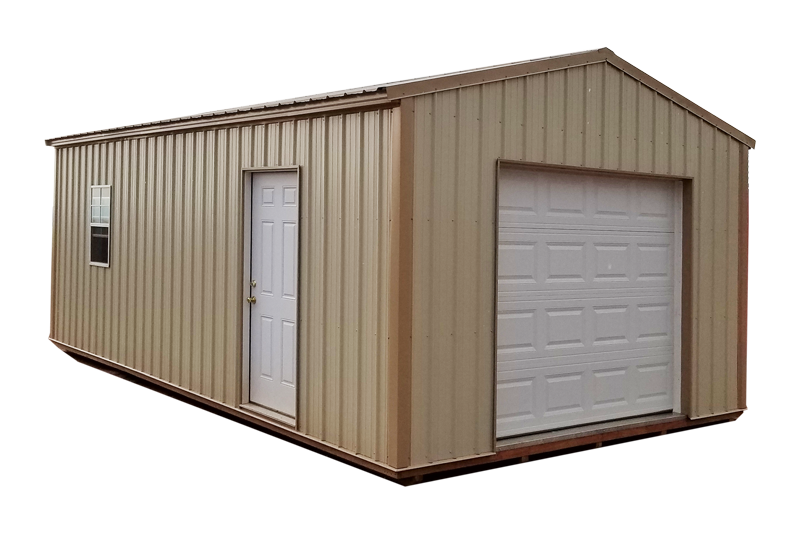 Buy a prefab car garage for your home 5 year warranty for Single garage kit
