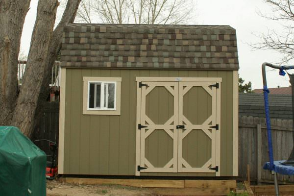 Storage Sheds for Sale on Eastern Slop of CO