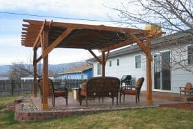 Get a Garden Pergola Quote from Colorado Shed Company.