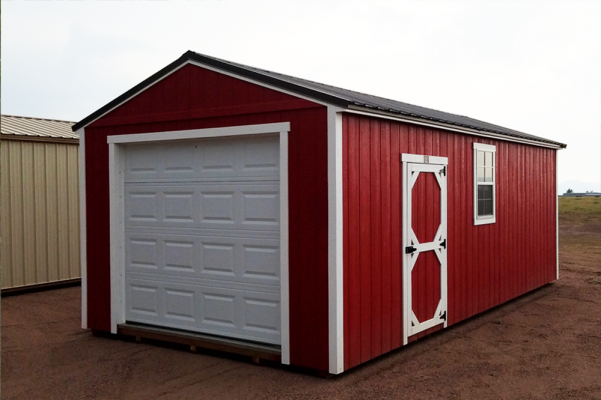 Buy a Single Wooden Garage in CO
