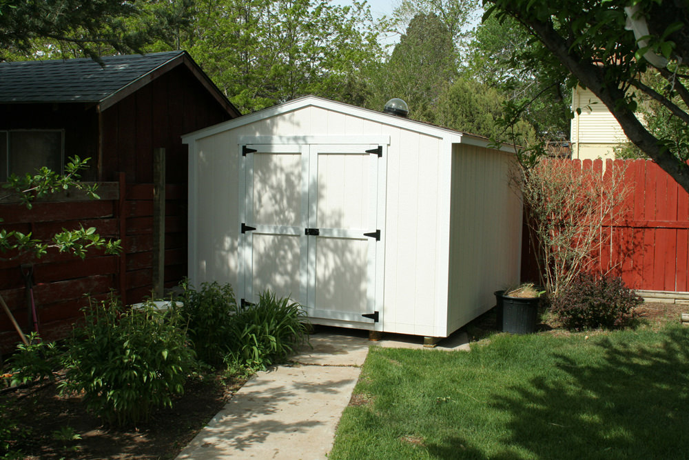 Quality A Frame Sheds Built Locally in Colorado | See Photos