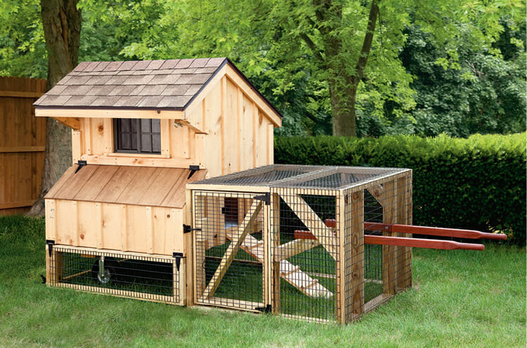 Buy a Portable Coop with a Run