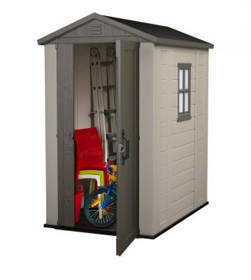 you can do better than a cheap plastic garden shed