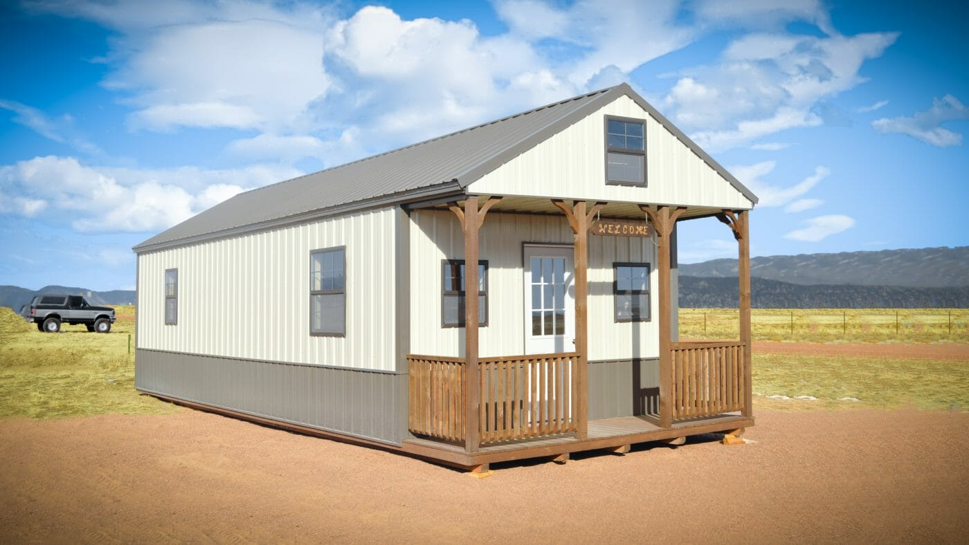 rocky mountain shed cabins for sale in co
