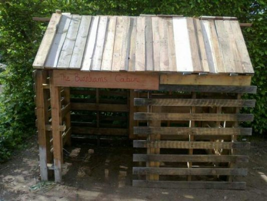 Pallet Lean-To Shed