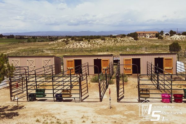 co lean-to animal sheds