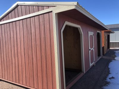 12X24 Loafing Shed W/ Tackroom 3