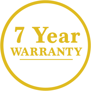 7 year warranty on sheds and garages