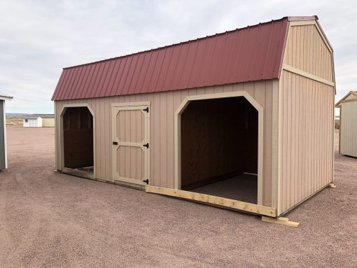 12x24 Loafing Shed 1
