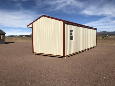 12x32 Loafing Shed with Tackroom 13