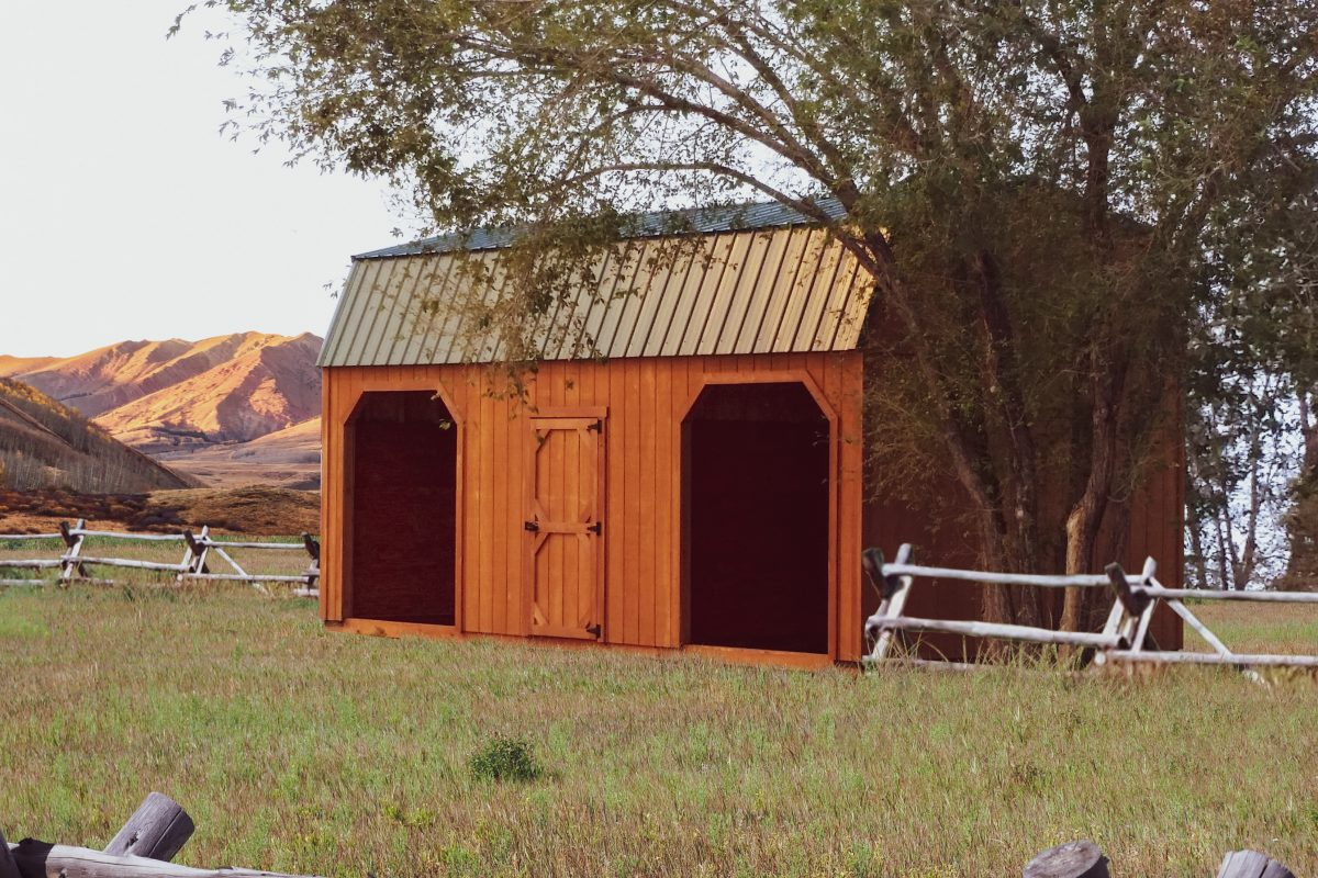 Animal Run In Sheds And Loafing Sheds For Sale In Colorado
