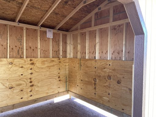 10x16 Loafing Shed 3
