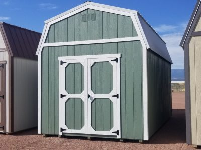10x16 Barn Style Shed 8