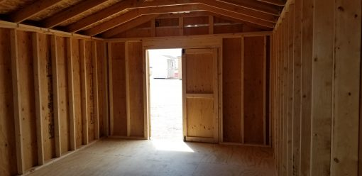 12x20 Gable Style Shed 7
