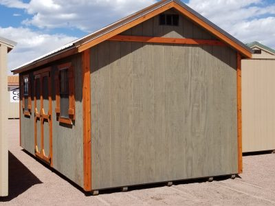 10x20 Gable Style Sheds 11