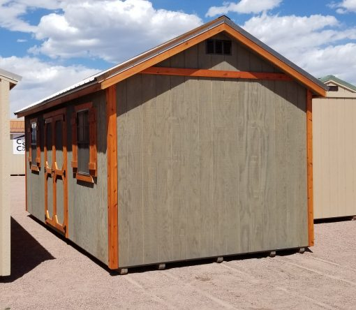 10x20 Gable Style Sheds 1