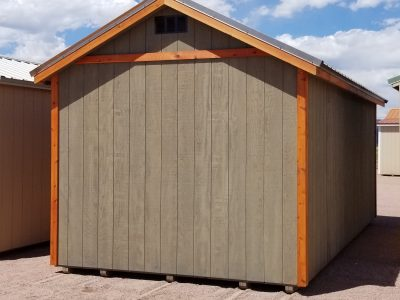 10x20 Gable Style Sheds 15