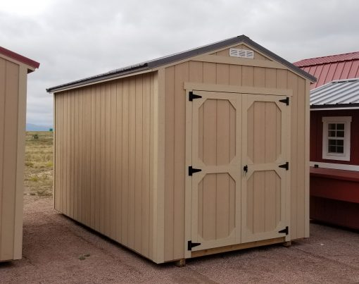 8x14 Gable Style Shed 1