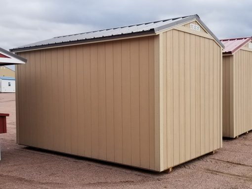 8x14 Gable Style Shed 4