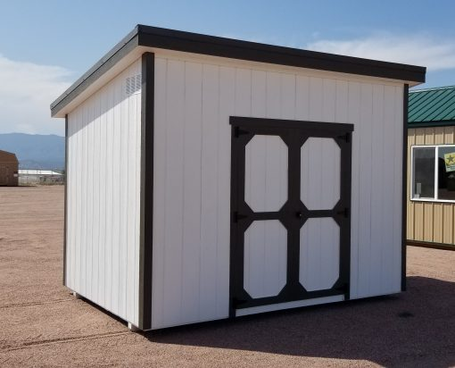 8x12 Urban Style Shed 2