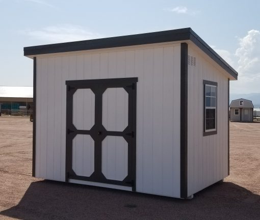 8x12 Urban Style Shed 1