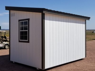 8x12 Urban Style Shed 14
