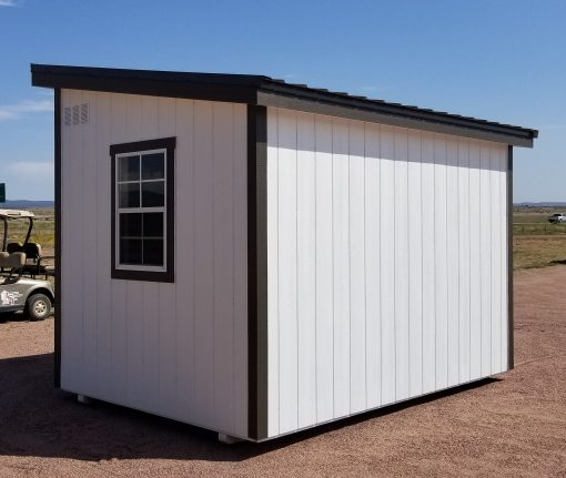 8x12 Urban Style Shed 6