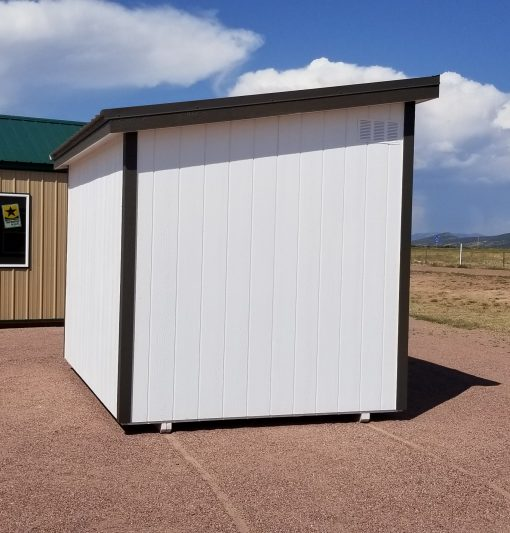8x12 Urban Style Shed 4