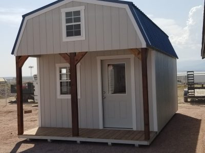12x24 Barn with Porch Shed 13