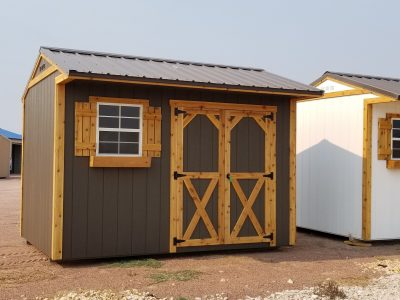 8x12 Tackroom Style Shed 8