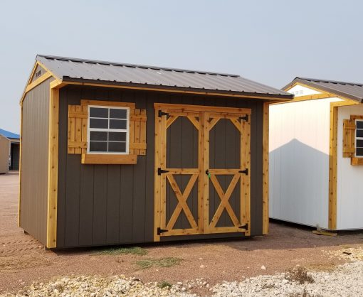 8x12 Tackroom Style Shed 2