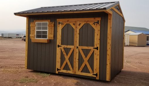 8x12 Tackroom Style Shed 1