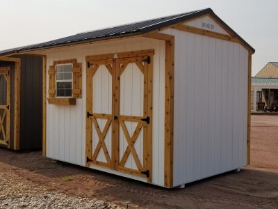 8x12 Tackroom Style Shed 9