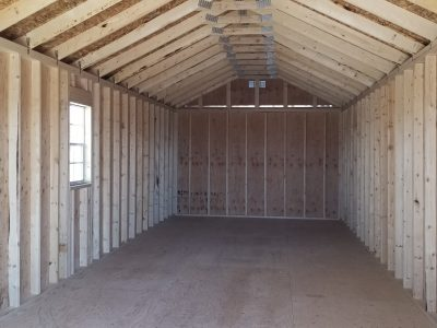 12x36 Gable Style Shed 13