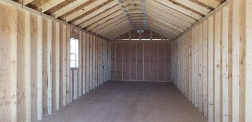 12x36 Gable Style Shed 7