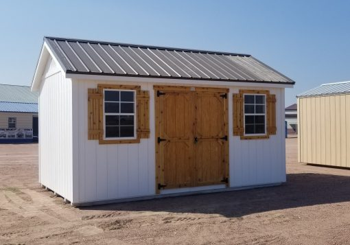 10x16 Gable Style Shed 1