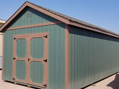 12x36 Gable Style Shed 9