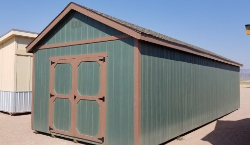 12x36 Gable Style Shed 1