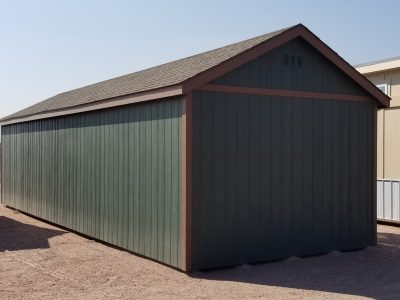 12x36 Gable Style Shed 11