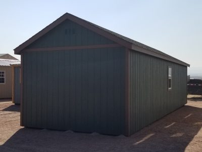 12x36 Gable Style Shed 10