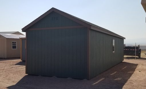 12x36 Gable Style Shed 4