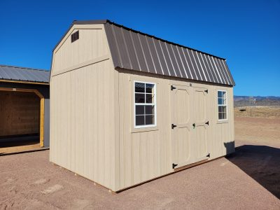 10x16 Barn Style Shed 9